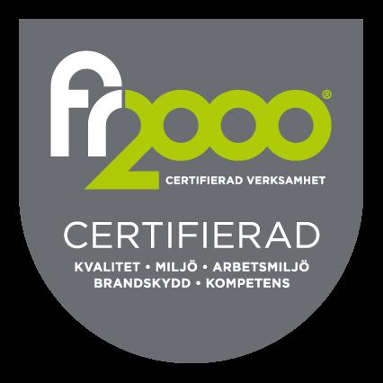 FR2000-certifierat